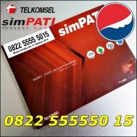Nomor Cantik Telkomsel simPATI 4G LTE Panca Bahan Sakti 0822.555550.15