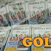 Samsung Galaxy J7 2016 GOLD Garansi Resmi SEIN