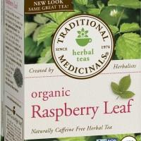 Traditional Medicinals Organic Raspberry Leaf Tea / Teh Organik