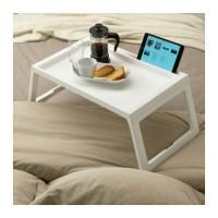 IKEA KLIPSK Baki Lipat untuk Tempat Tidur, Putih
