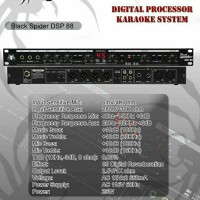 PROCESSOR BLACK SPIDER DSP  88