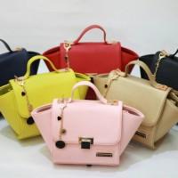 Tas Wanita Branded Berkualitas CK Mini Trapeze Handbag Murah