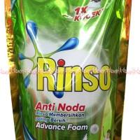 Jual Rinso Anti Noda Advance Foam 1x Kucek Rinso cair 800ml Murah