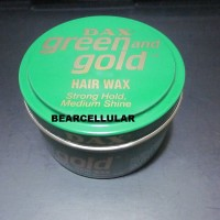 DAX GREEN AND GOLD POMADE | FREE SISIR SAKU