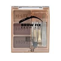 MILANI - BROW FIX BROW KIT 03 DARK