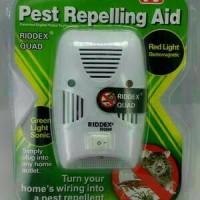 Jual RIDDEX QUAD Elektrik Pengusir Tikus, Nyamuk Dan Kecoa Aman Murah Murah