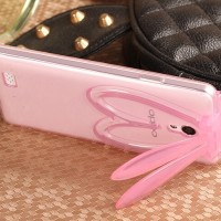 harga Rabbit Soft Case Clear Oppo Joy 3 3s A11 Silikon Casing HP Cover Stand Tokopedia.com