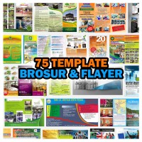 75 Template Brosur & Flyer