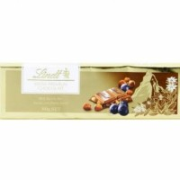 Lindt Swiss Premium Gold Bar Milk Raisin Nut Chocolate Cokelat Coklat