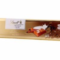 Lindt Swiss Premium Gold Bar Milk Chocolate Cokelat Coklat Susu Import