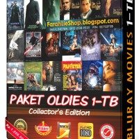 Harddisk Film Bluray Movies 1TB - Paket Oldies