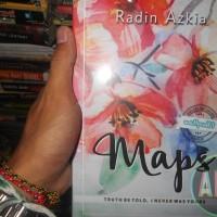 Buku Novel Maps ( Truth Betold, I Never Was Yours ) By Radin Azkia