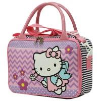 Travel Bag Mini Hello kitty Bahan Kanvas ada Tali Selem Murah