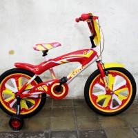 harga Sepeda BMX anak-anak ukuran 18 Exotic Merah dan penutup Frame Tokopedia.com
