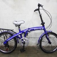 harga Sepeda Lipat / Folding Bike size 20 Exotic untuk anak-anak dan dewasa Tokopedia.com