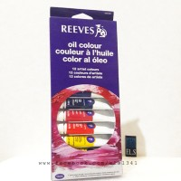 Reeves Oil Paint 12 Colours