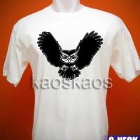 harga Kaos Burung Hantu Owl Fly Tokopedia.com