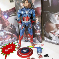 action Figure Crazy toys: Captain America Civil war New style -