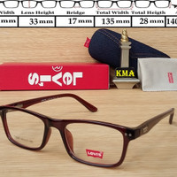 frame kacamata / kacamata minus / frame levis  / lensa kacamata