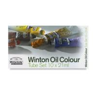 WINTON Oil Colour Tube Set 10 X 21ml
