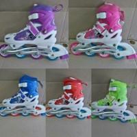 harga Sepatu Roda BAJAJ Ban KARET   Inline Skate PU Wheels Anak dan Dewasa  Tokopedia. 8bb1599488