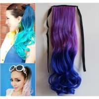 HO4552 - Pony Tail Wig Gradient Violet