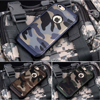 Casing Cover Hp Iphone 5 5s 6 6s 6 Plus Army Case