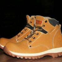 Sepatu Boots Safety Timberland Jaguar / outdoor touring gunung pria