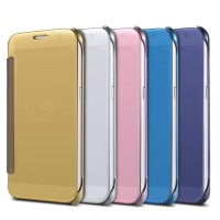 Casing Cover Hp SAMSUNG GALAXY J5 2016 J7 2016 Flip Mirror Clear View