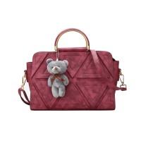 Tas selempang handbag korea import 21654 Purple Red