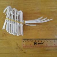 Cantolan Ram Single Putih 10cm Display Etalase Toko