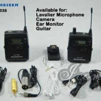 Sennheiser EK 1038 G2 Camera Mount Wireless System with Mi