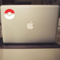Tokomonster Decal Sticker Pokemon Pokeball Macbook Pro and Air
