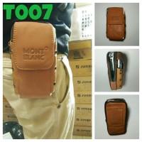 harga tas pinggang handphone powerbank dan tablet kulit sapi asli Tokopedia.com