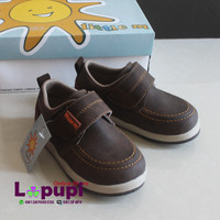 harga 136 Little M Shoes Boy 1 Rekatan Dark Grey Tokopedia.com
