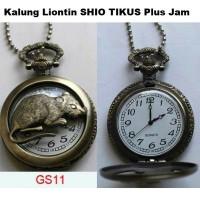 KALUNG LIONTIN SHIO TIKUS Plus Jam