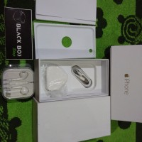 Dus book/buku Handphone (HP) apple iPhone 6 & 6+ fullset acc oem