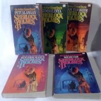 Paket 5 Novel Sherlock Holmes (Petualangan, Memoar, Kembalinya, dll)
