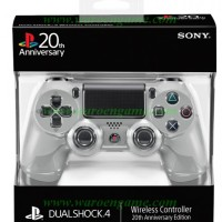 PS4 Wireless Controller (DUALSHOCK 4) 20th Anniversary Edition