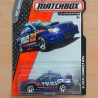 Matchbox Subaru Impreza WRX Blue