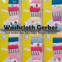 Harga wascloth gerber sapu tangan handuk | WIKIPRICE INDONESIA