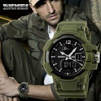 SKMEI Military Sport Watch 1040 Original Water Resistant 50M - Army