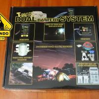 T-Max Dual Battery System Untuk Pengisian dari Aki satu ke Aki Lainnya