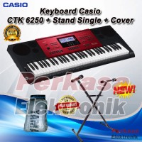 Keyboard Casio CTK 6250 / CTK-6250 / CTK6250 + Stand + Cover