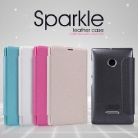 NILLKIN Sparkle Series Leather Case Microsoft Lumia 532 Original