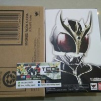 Shf Kamen Rider Kuuga Ultimate Form Renewal + box cokelat