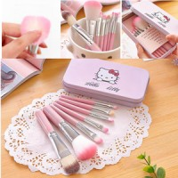 Hello Kitty Mini Makeup Brush Set