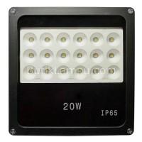 Lampu Sorot Outdoor LED SMD / Flood Light LED 20W Kuning