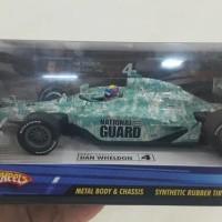 Hot wheels Formula Indy Car Dan Wheldon 2005 National Guard 1 : 24