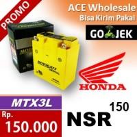 harga Aki NSR 150 Honda MOTOBATT MTX3L kering motor 135 MOTOBAT accu Tokopedia.com